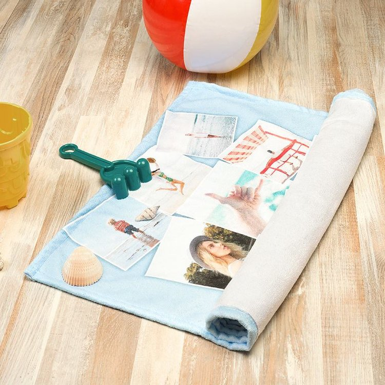 Beach Towel: Personalised Beach Towels UK. Design Your Own Beach Towel