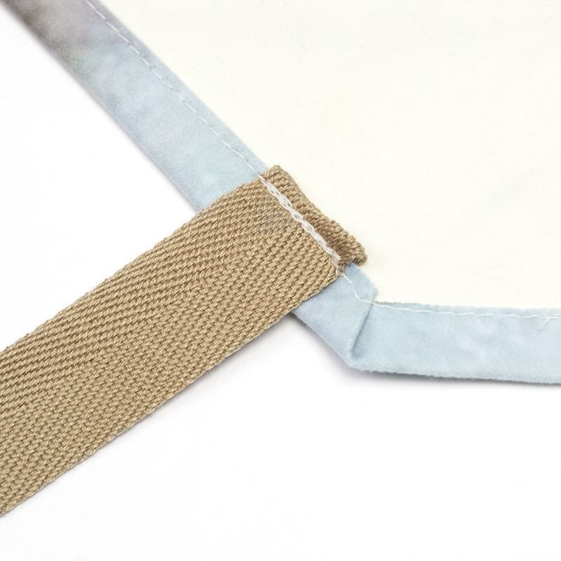 neck tape apron printing details