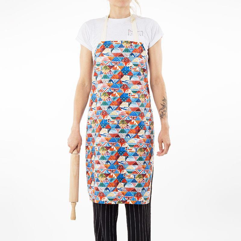 colourful custom aprons