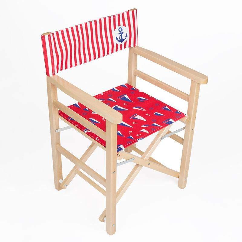 Sedia da regista personalizzata sedia pieghevole con nome for Sedia design regista