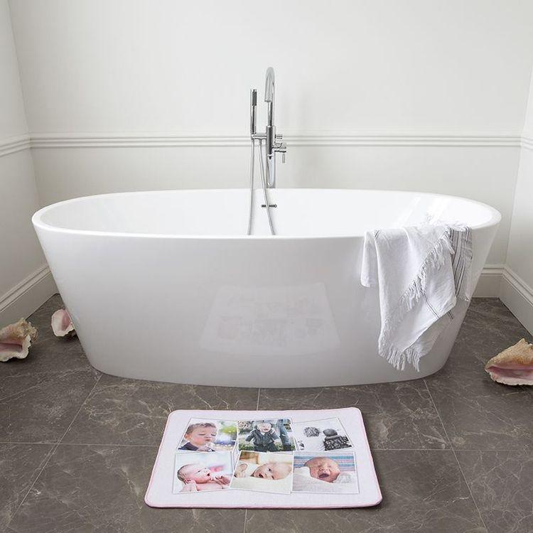 Tapis de bain personnalisé avec photo montage