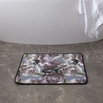 customised bath mat