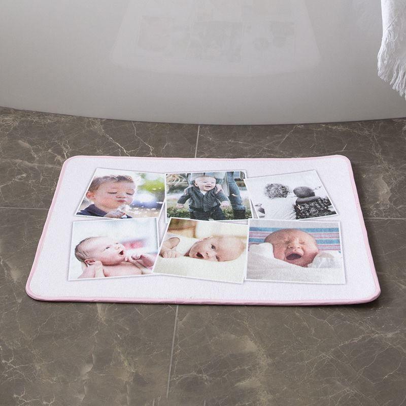 Tapis de bain personnalis impression textile de qualit Tapis de bain original