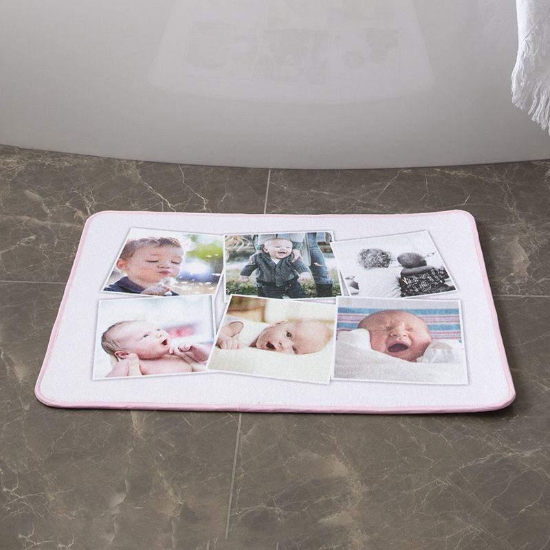 tapis de bain personnalis impression textile de qualit. Black Bedroom Furniture Sets. Home Design Ideas