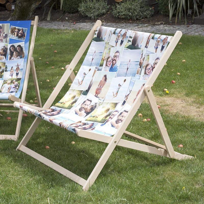 transat double personnalis avec vos photos cadeau personnalis. Black Bedroom Furniture Sets. Home Design Ideas