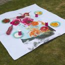 お祭りやフェスティバルに デザインプリント ピクニックシート