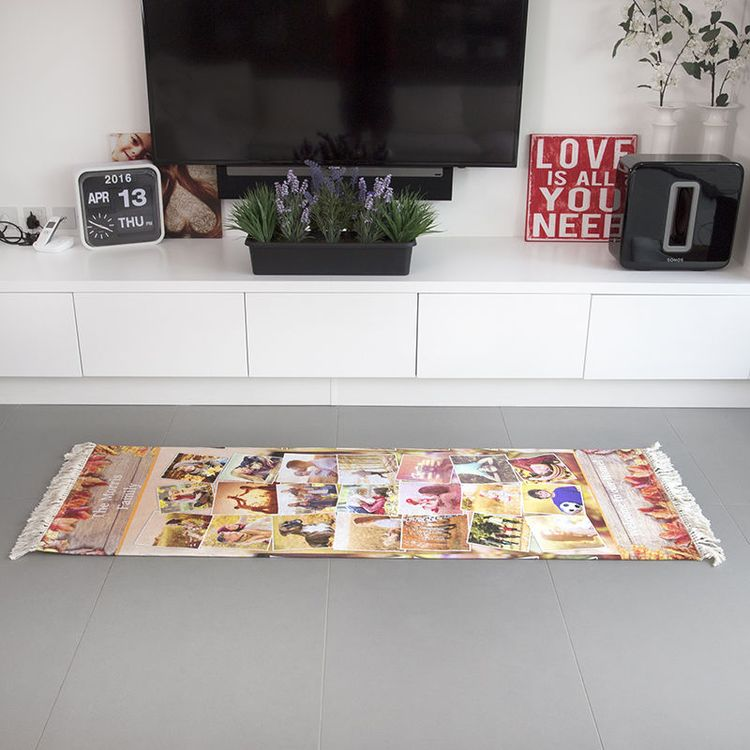 personalised prayer mats with cotton fringe
