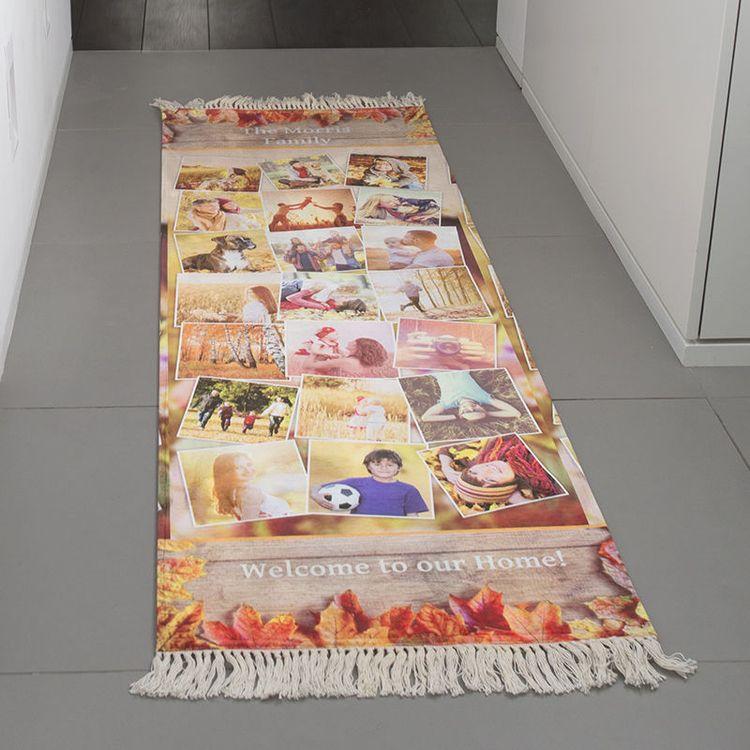 加长定制走廊长毯照片拼图设计