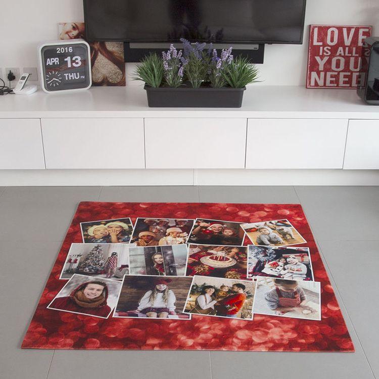 gepersonaliseerd extra groot tapijt