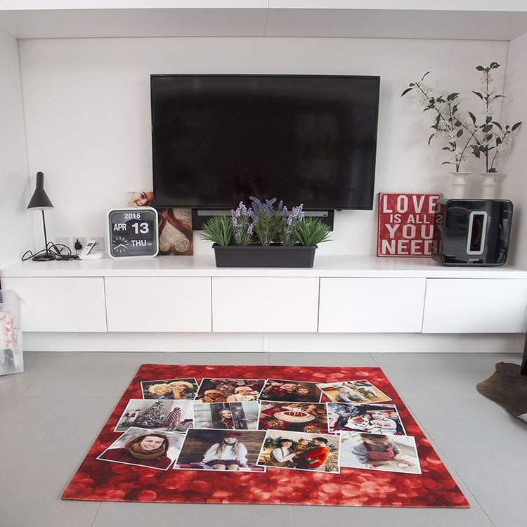 tapis personnalis avec montage photos - Tapis Personnalise