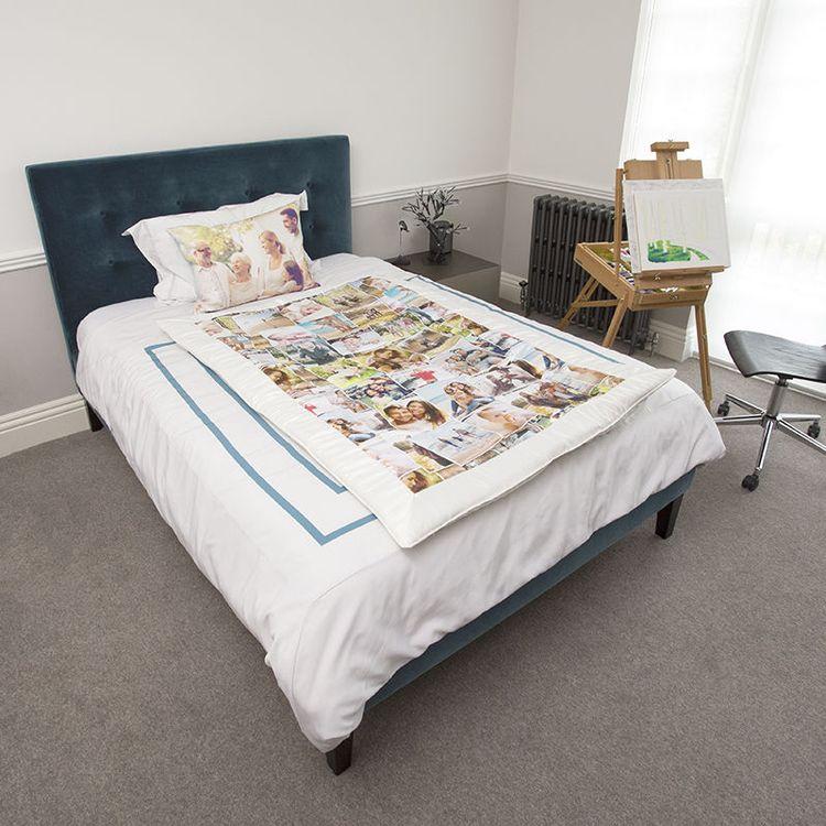 duchess satin Custom Comforter with photo montage
