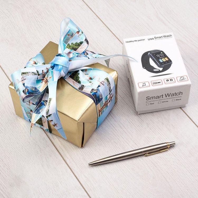 personalisierbares geschenkband