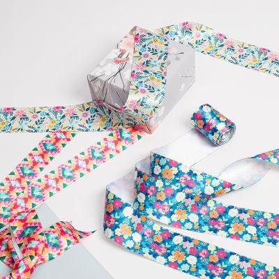 raso para adornar regalos