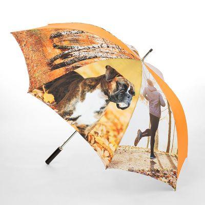 personligt paraply med sublimeringstryck