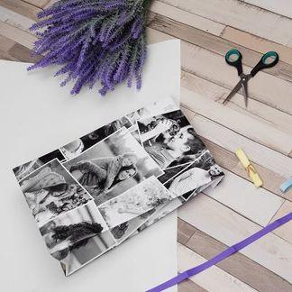 papel regalo amigo invisible personalizado
