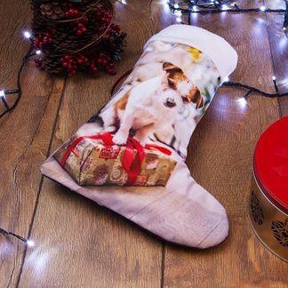 calcetines de navidad para mascotas