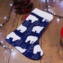 クリスマス靴下 印刷
