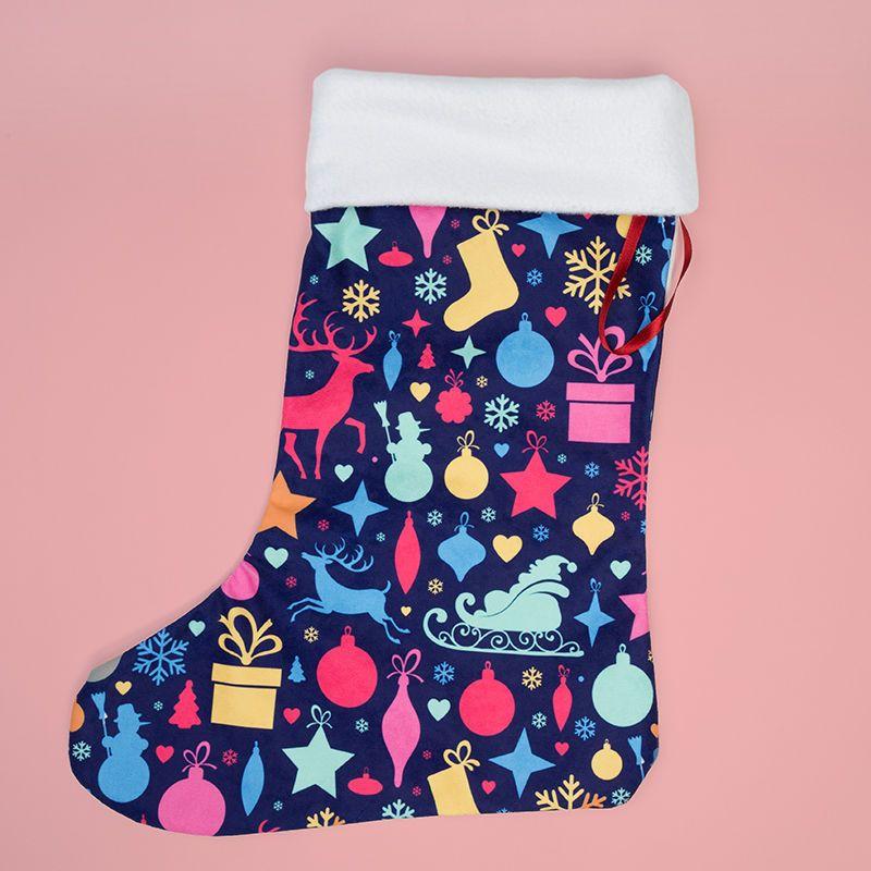 クリスマス靴下 オリジナルデザイン