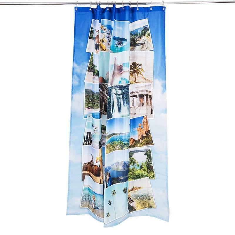 duschvorhang bedrucken lassen foto duschvorhang selbst gestalten. Black Bedroom Furniture Sets. Home Design Ideas