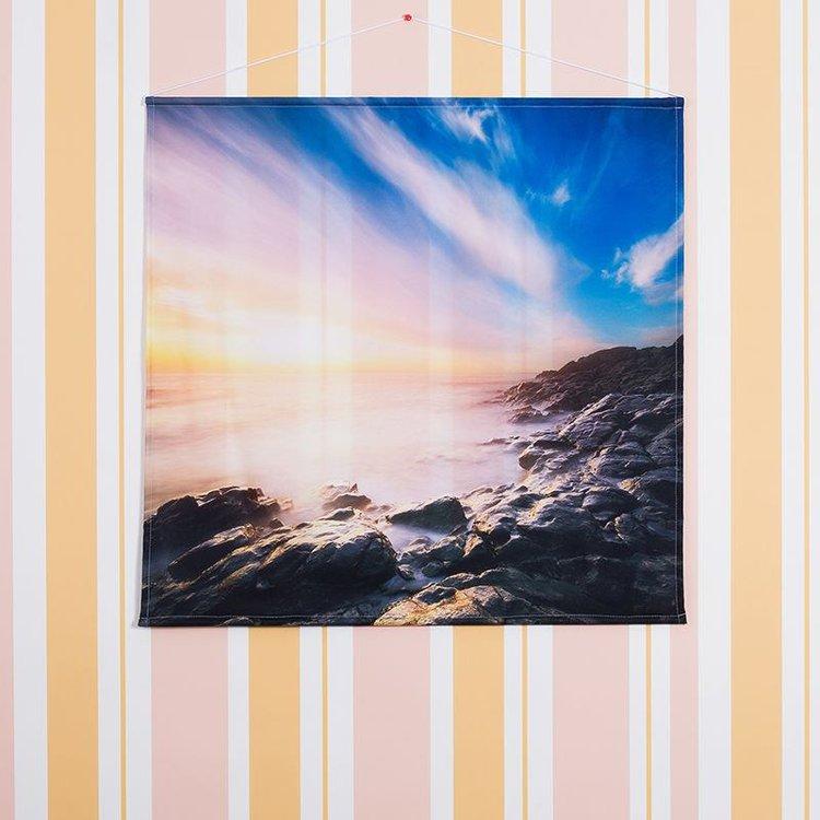 foto poster in tessuto