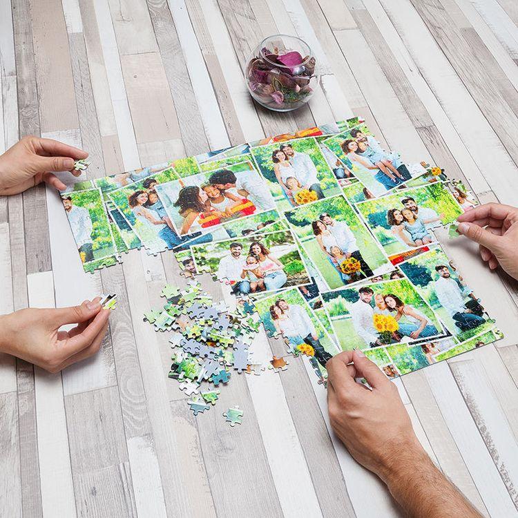 fotopuzzle collage gestalten