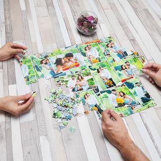 Puzzle photo