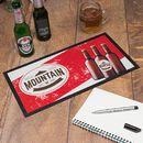 customized bar mats