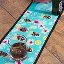 Impression sur tapis de bar avec design coloré