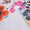 matt oilcloth fabric