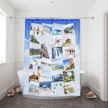 Cortina para ducha personalizada