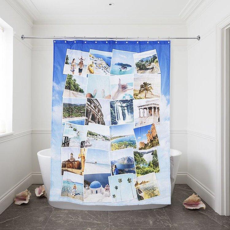 Personalised Shower Curtain Custom Printed