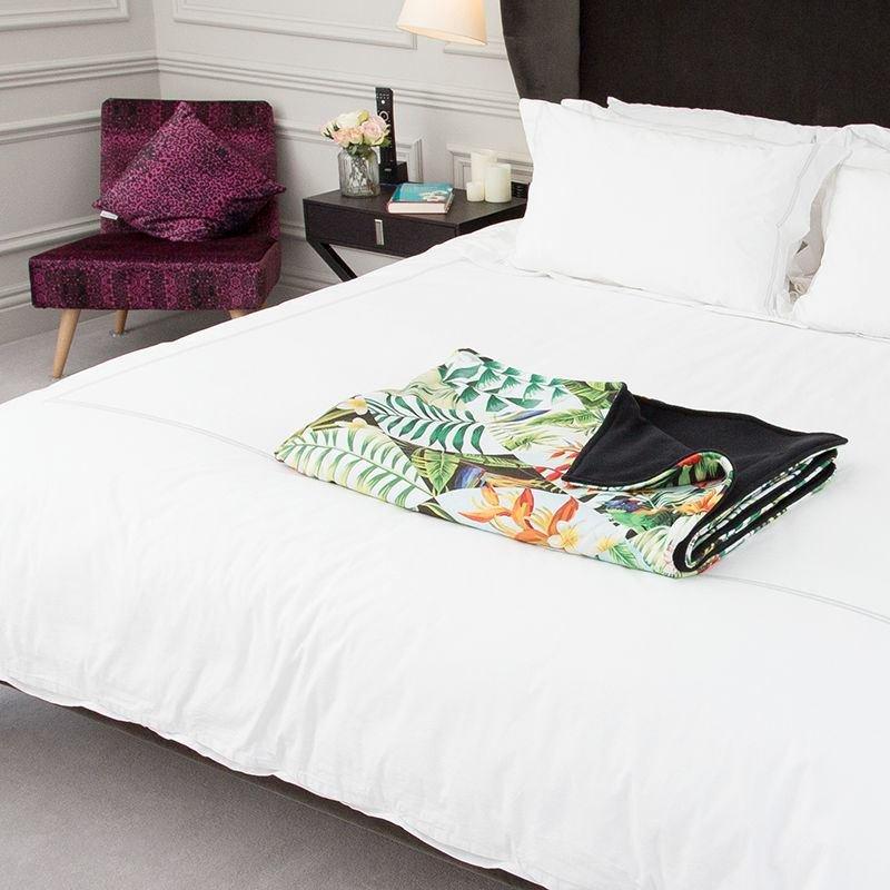 baby comfort blanket in a bedroom setting