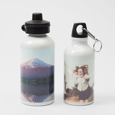 botella de aluminio original