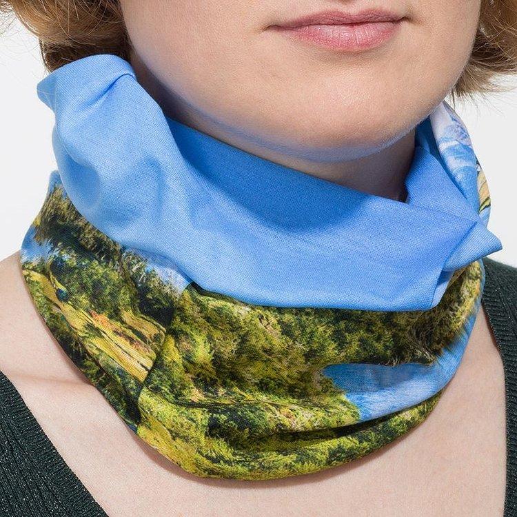 custom printed tube scarf lycra