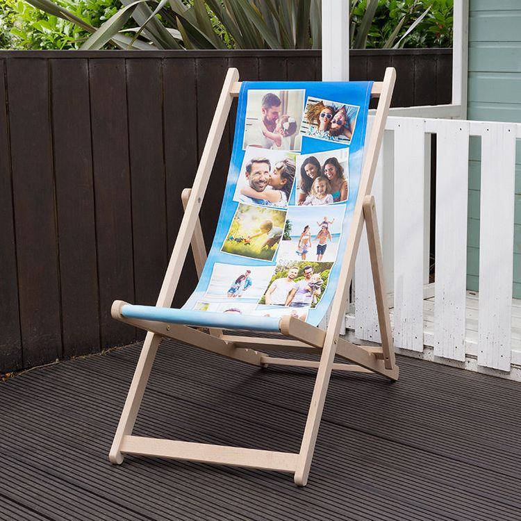 Bespoke Deck Chairs Photo Montage Design