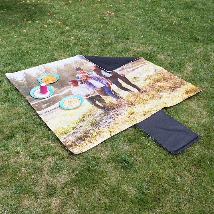 Photo Picnic Blanket Printing Custom Waterproof Picnic Blanket