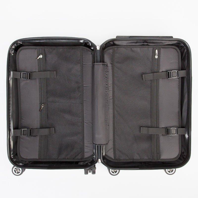 スーツケース 中の様子