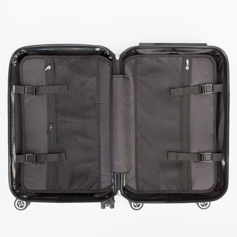 custom suitcase inside