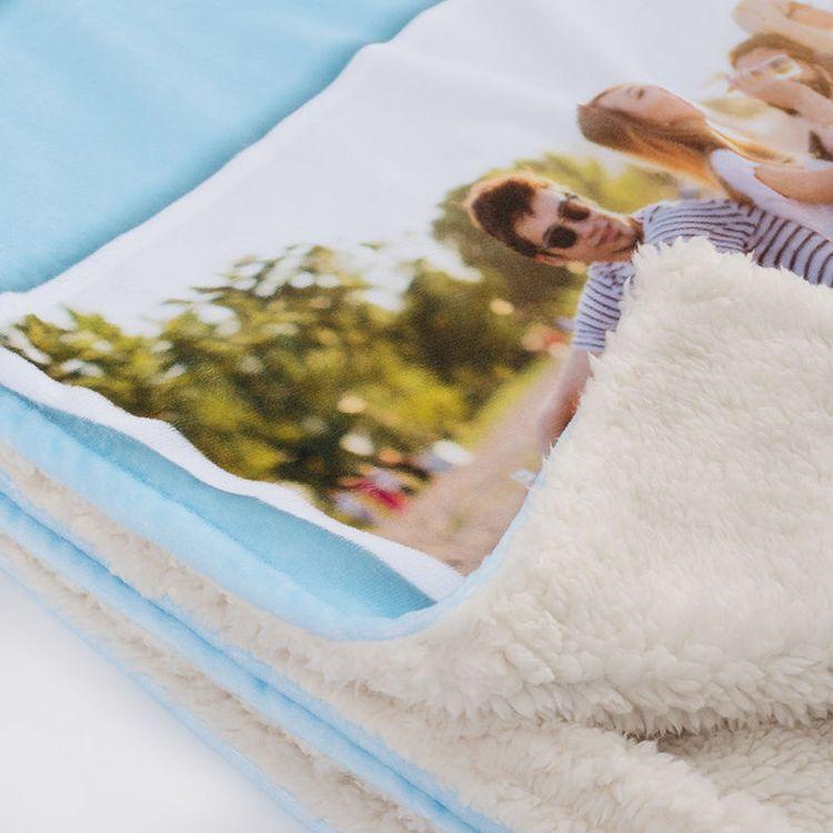 gepersonaliseerde deken nepbont