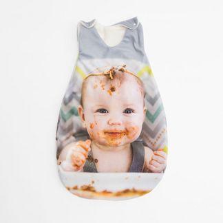 babyschlafsack mit foto