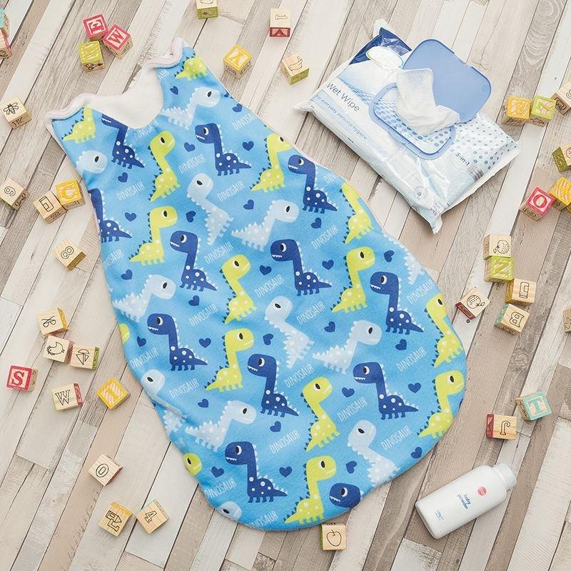 baby sleeping bags UK made and printed