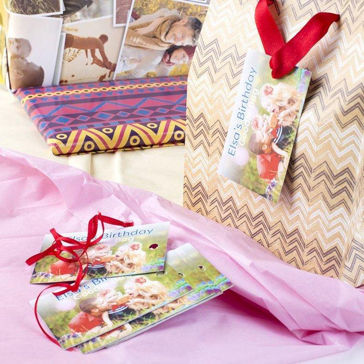 étiquettes cadeaux personnalisées