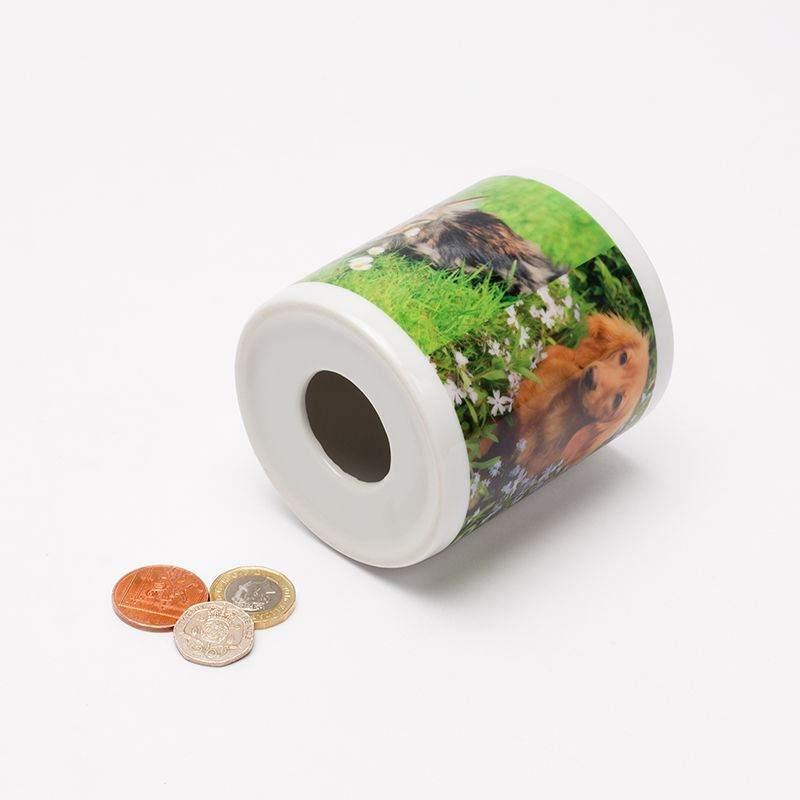 Personalized Money Jars. Custom Money Jar. Custom Coin Banks