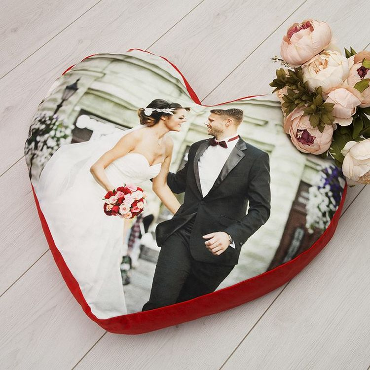 Heart Photo Cushion