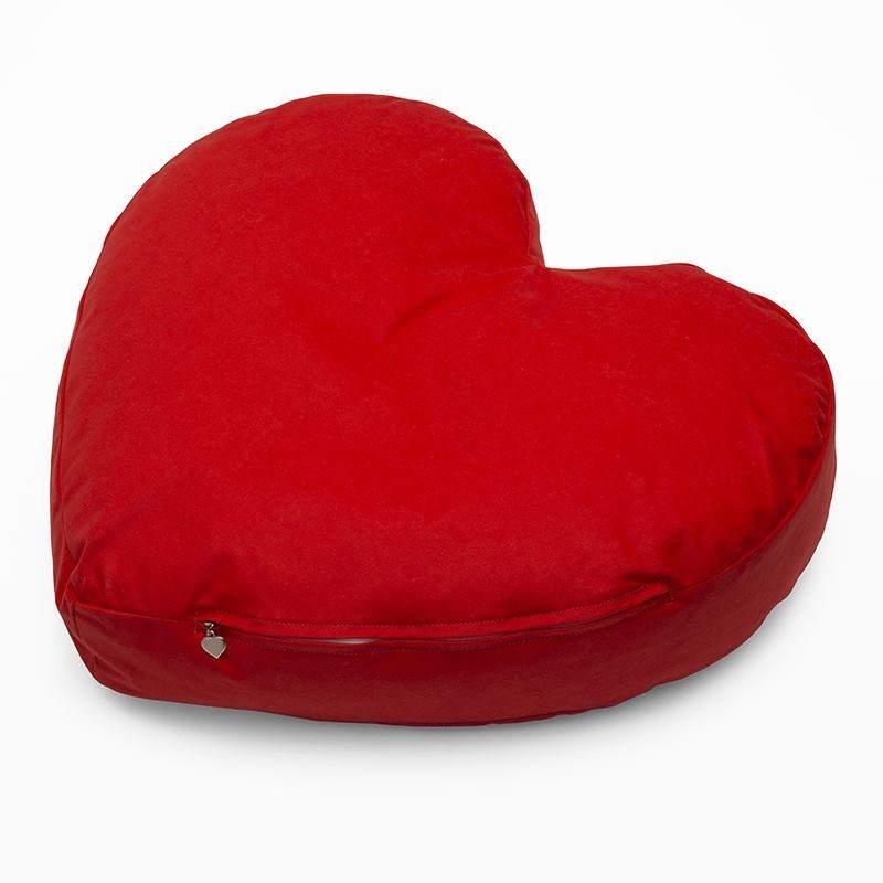 gros coussin de sol personnaliser coussin en forme de coeur. Black Bedroom Furniture Sets. Home Design Ideas