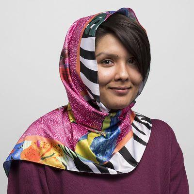 customized hijab