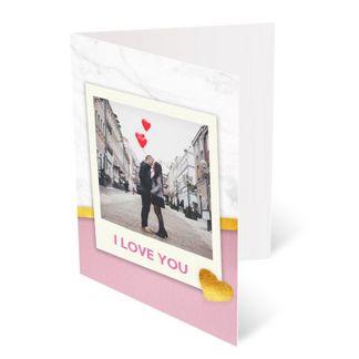 Valentines Card Personalised