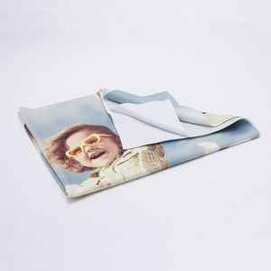 Enkele laag foto deken