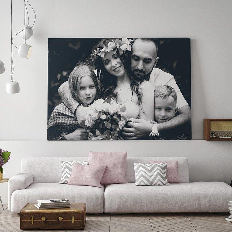 Tela fotografica in bianco e nero foto regali originali - Cuadros fotos personalizados ...