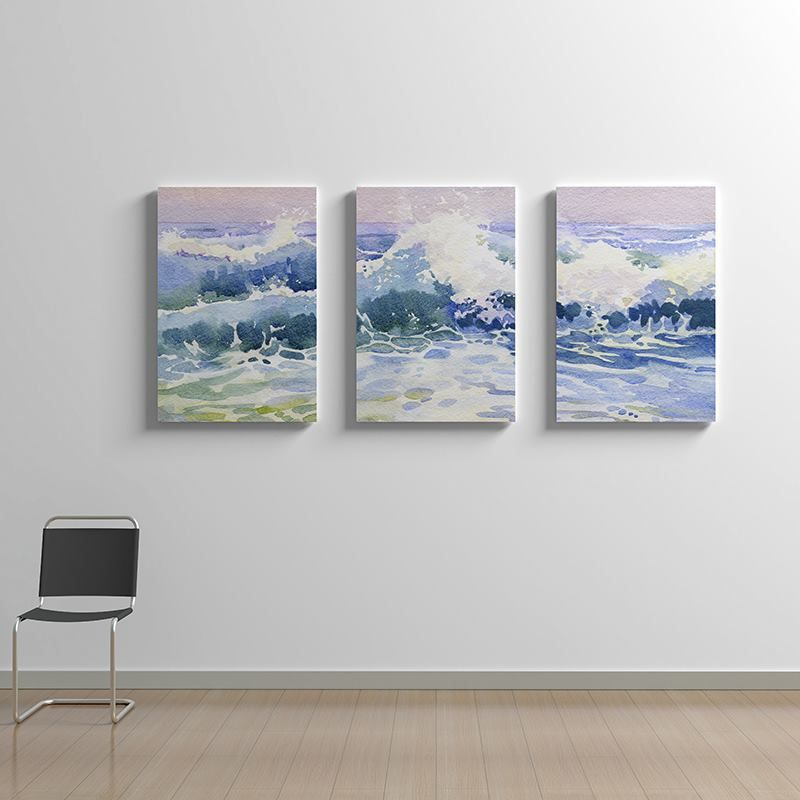 triptych canvas art